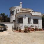 Traditionelle spanische Villa mit fantastischem Meerblick