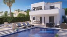 Nuevo construction villa en Calpe