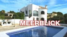 Villa grande con piscina y vistas en Calpe