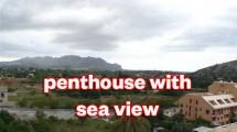 Atico con vistas al mar a Pedreguer
