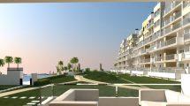 Apartments near the beach in Mil Palmeras