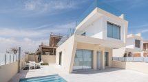 Villas near the beach with sea view in Mil Palmeras