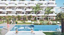 Apartamentos cerca de la playa en Campoamor