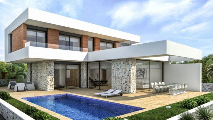 Modern villas in Denia Costa Blanca