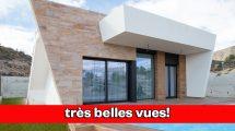 Modernas villas nuevas con piscina en Benidorm