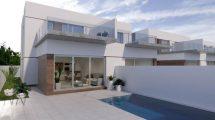 New villas with pool in Daya Vieja