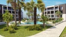 New apartment complex in Los Altos