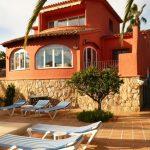 Villa in Südlage mit Panoramablick in Moraira Costa Blanca