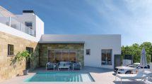 New terraced houses with pool Daya Vieja