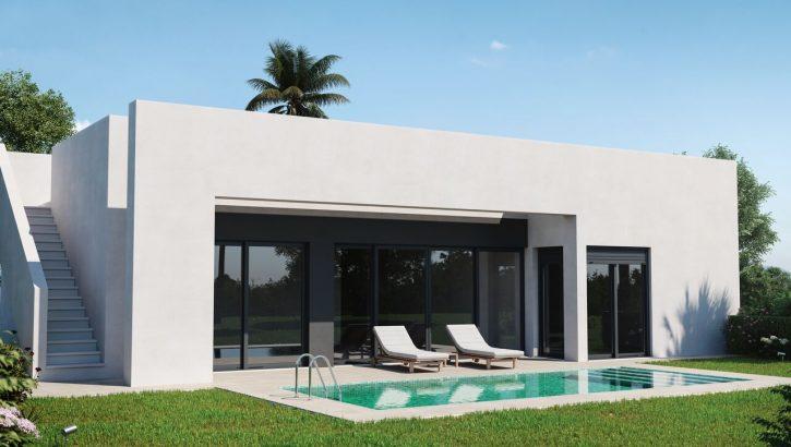 Nouvelles villas de golf à Murcia Costa Blanca