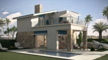 Modern new built villas in La Marina Costa Blanca