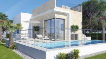 Nieuwe villa's aan de golfbaan Finestrat Costa Blanca