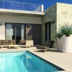 Nieuwe huizen met zwembad in Daya Vieja Costa Blanca