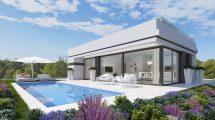 Neubauvilla mit Pool in Polop Costa Blanca