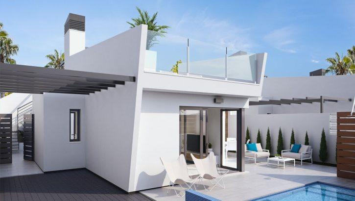 Neubau Villen in Los Alcazares Costa Blanca