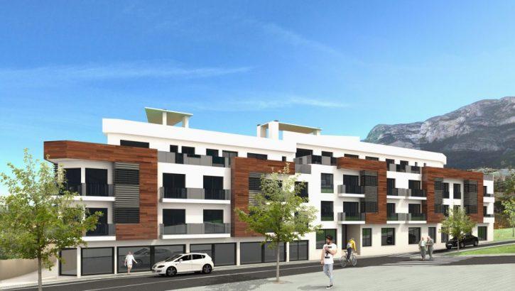 Neubau Wohnungen in Denia Costa Blanca