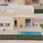 New villas at the golf course Finestrat Costa Blanca