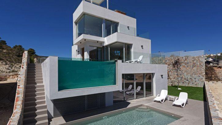 Moderne Neubauvillen in Finestrat Costa Blanca