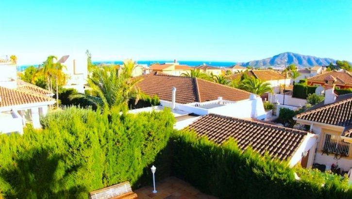 Villa mit Meerblick in Altea Costa Blanca