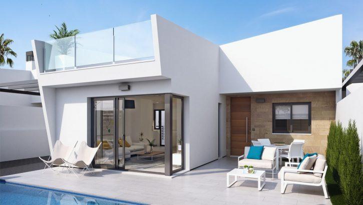 Moderne villas in Los Alcazares Costa Blanca